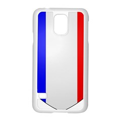 Shield on the French Senate Entrance Samsung Galaxy S5 Case (White)