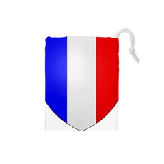 Shield on the French Senate Entrance Drawstring Pouches (Small)