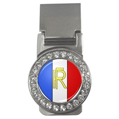 Semi-Official Shield of France Money Clips (CZ)