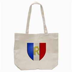 Semi-Official Shield of France Tote Bag (Cream)