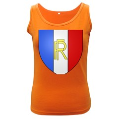 Semi-Official Shield of France Women s Dark Tank Top