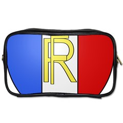 Semi-Official Shield of France Toiletries Bags 2-Side