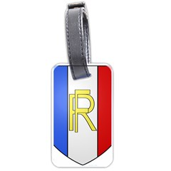 Semi-Official Shield of France Luggage Tags (Two Sides)