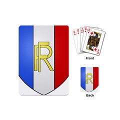 Semi-Official Shield of France Playing Cards (Mini)