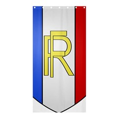 Semi-Official Shield of France Shower Curtain 36  x 72  (Stall)