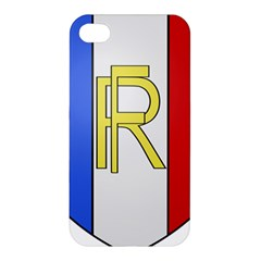 Semi-Official Shield of France Apple iPhone 4/4S Hardshell Case