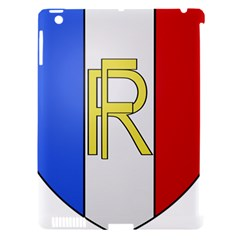 Semi-Official Shield of France Apple iPad 3/4 Hardshell Case (Compatible with Smart Cover)