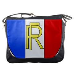 Semi-Official Shield of France Messenger Bags