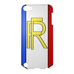 Semi-Official Shield of France Apple iPod Touch 5 Hardshell Case