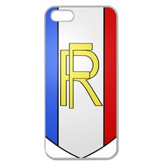 Semi-Official Shield of France Apple Seamless iPhone 5 Case (Clear)
