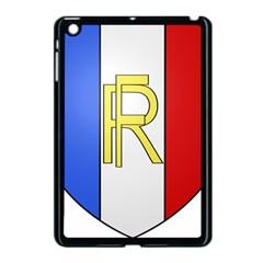 Semi-Official Shield of France Apple iPad Mini Case (Black)