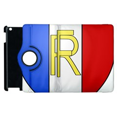Semi-Official Shield of France Apple iPad 3/4 Flip 360 Case