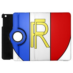 Semi-Official Shield of France Apple iPad Mini Flip 360 Case