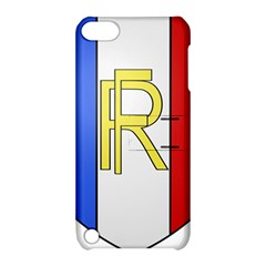 Semi-Official Shield of France Apple iPod Touch 5 Hardshell Case with Stand