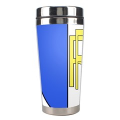 Semi-Official Shield of France Stainless Steel Travel Tumblers