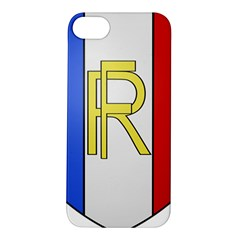 Semi-Official Shield of France Apple iPhone 5S/ SE Hardshell Case