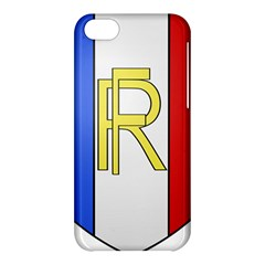 Semi-Official Shield of France Apple iPhone 5C Hardshell Case
