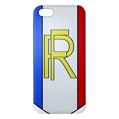 Semi-Official Shield of France iPhone 5S/ SE Premium Hardshell Case