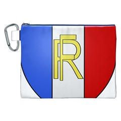 Semi-Official Shield of France Canvas Cosmetic Bag (XXL)