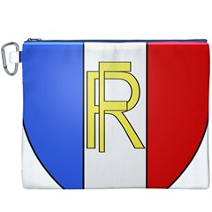 Semi-Official Shield of France Canvas Cosmetic Bag (XXXL)