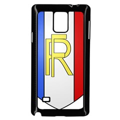 Semi-Official Shield of France Samsung Galaxy Note 4 Case (Black)