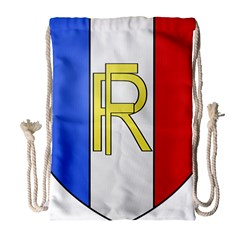 Semi-Official Shield of France Drawstring Bag (Large)