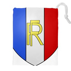Semi-Official Shield of France Drawstring Pouches (XXL)