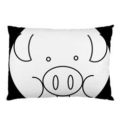 Pig Logo Pillow Case