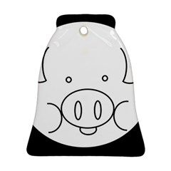Pig Logo Bell Ornament (two Sides)