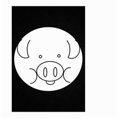 Pig Logo Small Garden Flag (Two Sides)