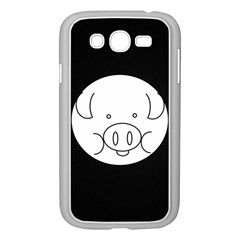 Pig Logo Samsung Galaxy Grand Duos I9082 Case (white)