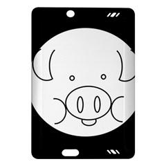 Pig Logo Amazon Kindle Fire HD (2013) Hardshell Case