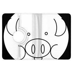 Pig Logo Kindle Fire HDX Flip 360 Case