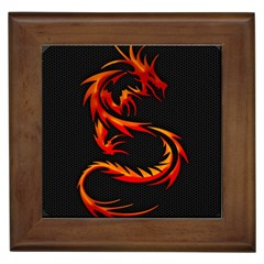 Dragon Framed Tiles