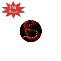 Dragon 1  Mini Buttons (100 Pack)