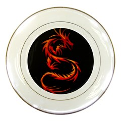 Dragon Porcelain Plates