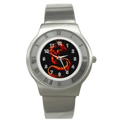 Dragon Stainless Steel Watch