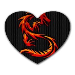 Dragon Heart Mousepads
