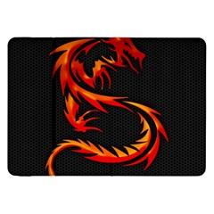 Dragon Samsung Galaxy Tab 8.9  P7300 Flip Case