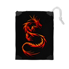 Dragon Drawstring Pouches (Large)
