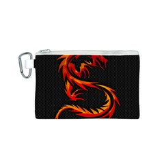Dragon Canvas Cosmetic Bag (S)