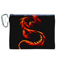 Dragon Canvas Cosmetic Bag (xl)