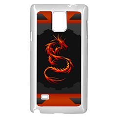 Dragon Samsung Galaxy Note 4 Case (White)