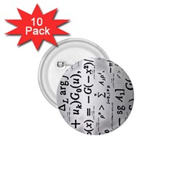 Science Formulas 1 75  Buttons (10 Pack)