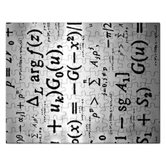 Science Formulas Rectangular Jigsaw Puzzl