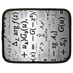 Science Formulas Netbook Case (XXL)