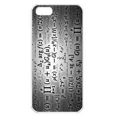 Science Formulas Apple iPhone 5 Seamless Case (White)