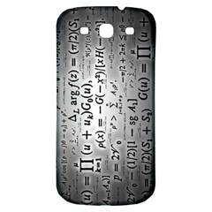 Science Formulas Samsung Galaxy S3 S III Classic Hardshell Back Case