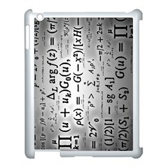 Science Formulas Apple iPad 3/4 Case (White)
