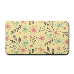 Seamless Spring Flowers Patterns Medium Bar Mats